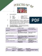 PROYECTO DE APRENDIZAJE  N° 05 - ENCABEZADO