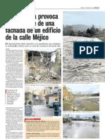 Nueva crecida del Rio Tormes en Puente del Congosto - Salamanca - Enero de 2011