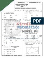Trigonometría r.t. de Ángulos Agudos (1)