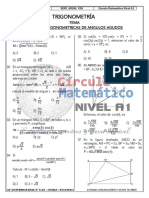 Trigonometría r.t. de Ángulos Agudos