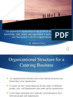 Catering Management (Organizational Structure)