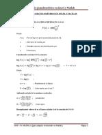 Análisis Granulométrico en Excel y Matlab