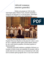 Www.free-referate.ro Folclorul Romanesc