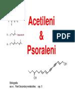 Acetileni e psolraleni
