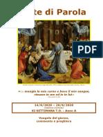 Sete di Parola - Corpus Domini - XI Settimana T.O._A.doc