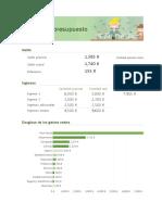 Presupuesto mensual domotica