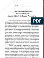 Was the Mexican Revolution a Revolt of Nature