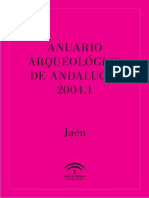 ANUARIO ARQUEOLÓGICO DE ANDALUCÍA 2004
