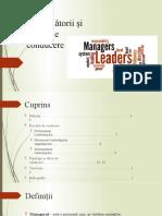 Conducătorii și stiluri de conducere