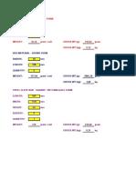 Caculation Formulas 24.9