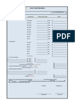 Form Cash Opname