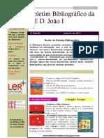 Boletim Bibliografico BE D. João