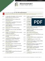 Journal Mediapart du 10 mai 2020