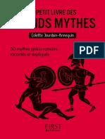 Le petit livre des grands mythe - Colette Jourdain-Annequin