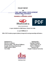 Final Project of Mahindra Internship