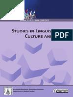 Studies in Linguistics, Culture, and FLT Vol. 5