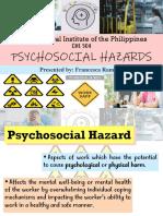report on hazards