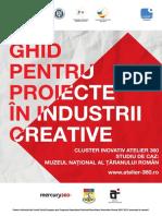 Ghid stagii de practica Industrii creative. Atelier 360