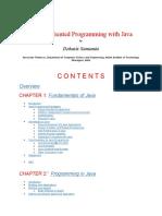 Object Oriented Programming with Java by Debasis Samanta