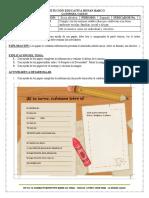 Guía Preescolar-Dimensión Socioafectiva-Período 2-Indicador 1