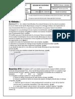 Devoir de synthèse N°1 - Physique - Bac Tech (2009-2010)