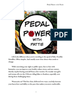 """Pedal Power With Pattie"" Bike Skills Class for Teen Girls and Women"