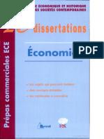 20 Dissertations Économiques