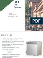 RBS 6000 Technical Data