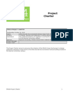Example of a Project Charter