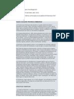 Páginas en Internet para Investigación de Tesis
