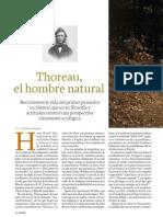 Henry David Thoreau, un pionero del ecologismo. (artículo en revista integral)