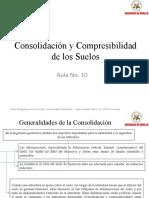 Aula 10, Consolidación y Compresibilidad de los Suelos