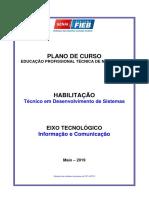 Plano+do+Curso+Técnico+em+Desenvolvimento+de+Sistemas