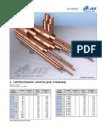 Copper tubes ITE