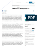 Cuando Japon Supero a EEUU Económicamente