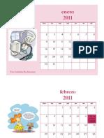 Calendario Internet Segura 2011 Por Cande y Yesi