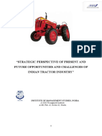 CHALLENGES OF INDIAN TRACTOR INDUSTRY'