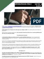 Publireportage et Blogs, attention aux risques légaux !