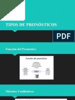 TIPOS DE PRONÓSTICOS