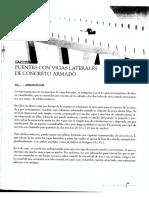 PUENTES CON VIGAS LATERALES DE CONCRETO ARMADO