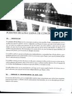 PUENTES DE LOSA LLENA DE CONCRETO