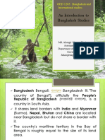 1. An introduction to Bnagladesh