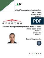 MG5000 MG5050 v.4.5 y Spectra v.4.7 Programacion