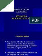 Biofísica de las soluciones-Regulacion hidroelectrolitica