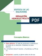 3 - Biofísica de las Soluciones - Regulacion Hidroelectrolitica