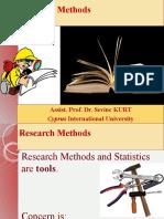 Reserach Design & Methodology 2