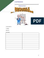 Analise e melhoria de Processos