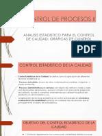 1.4 ANALISIS ESTADISTICO PARA EL CONTROL DE CALIDAD