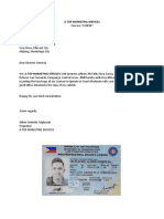Authorization to Pickup LTO - ATOP MARKETING SERVICES