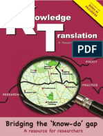 Knowledge Translation Toolkit